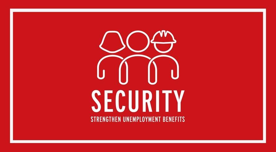 Security unemployment benefits